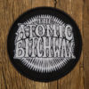 "THE ATOMIC BITCHWAX ""Logo"" Patch BLACK sew on"