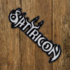 "SATYRICON ""Cut Out"" Patch BLACK"