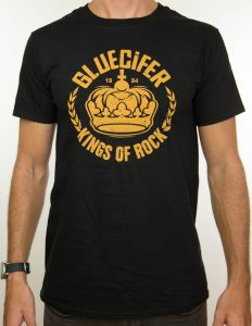 "GLUECIFER ""Crown"" T-Shirt BLACK - S"