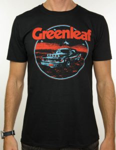 "GREENLEAF ""desert car"" T-Shirt BLACK - S"