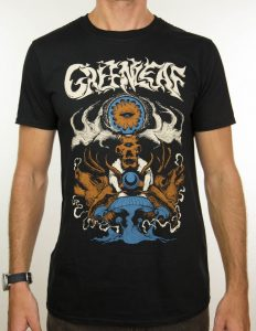 "GREENLEAF ""elk"" T-Shirt BLACK - S"