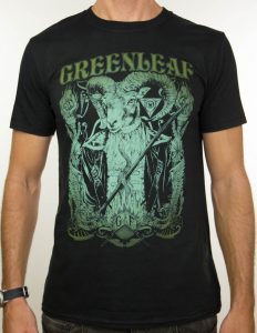 "GREENLEAF ""gradient"" T-Shirt BLACK - S"