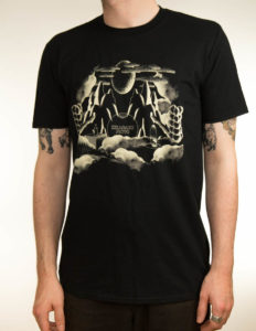 "KIKAGAKU MOYO ""Moon"" T-SHIRT BLACK - S"