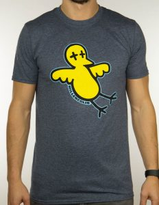 "MILLENCOLIN ""Bird"" T-Shirt MELANGE NAVY - S"