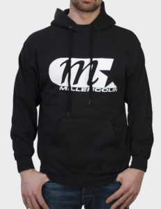 "MILLENCOLIN ""Classic Logo"" Hoodie Sweater BLACK - XL"