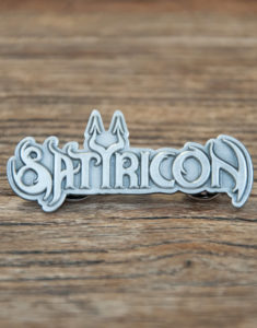 "SATYRICON ""Logo"" Pin"
