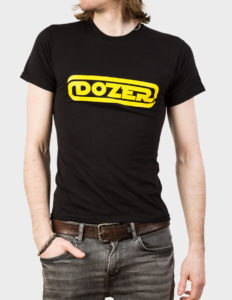 "DOZER ""Logo"" T-Shirt BLACK - XL"