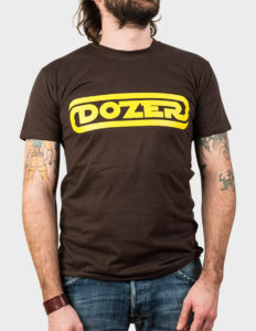 "DOZER ""Logo"" T-Shirt BROWN - S"