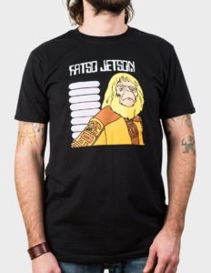 "FATSO JETSON ""Flames For All"" T-Shirt BLACK - L"