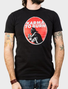 "KARMA TO BURN ""Fireman"" T-Shirt BLACK - 2XL"