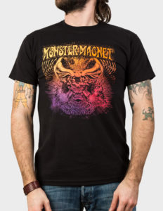"MONSTER MAGNET ""Hitchman"" T-Shirt BLACK - S"