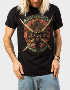 "MONSTER MAGNET ""Spine Of Gold"" T-Shirt BLACK - S"