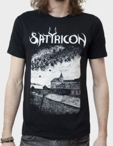 "SATYRICON ""Oskoreia"" T-Shirt BLACK w/ back print - 2XL"