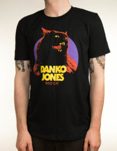 "DANKO JONES ""Wild Cat"" T-Shirt BLACK - L"