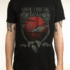 "MARK LANEGAN ""Swan"" T-Shirt BLACK"