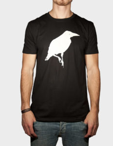 "THIEFAINE ""Corbeau"" T-Shirt BLACK - S"