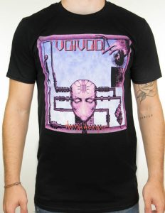 "VOIVOD ""Nothingface"" T-Shirt BLACK - S"