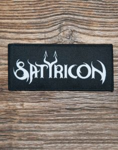 "SATYRICON ""Logo"" Patch BLACK"