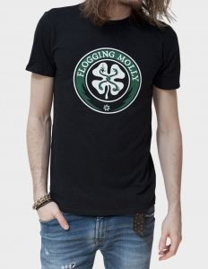 "FLOGGING MOLLY ""Distressed Classic"" T-Shirt BLACK - S"