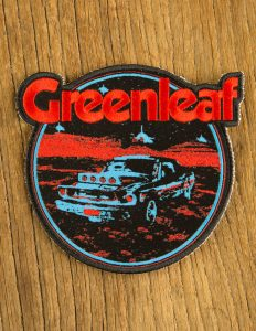 "GREENLEAF ""Desert Car"" Patch BLACK"