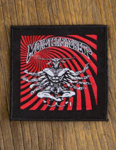 "MONSTER MAGNET ""8 arms bullgod"" Patch BLACK"