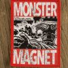 "MONSTER MAGNET ""spacelord comic"" Patch RED"