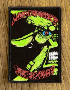 "MONSTER MAGNET ""kozik spacelord"" Patch BLACK"