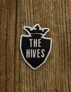 "THE HIVES ""Crest"" Iron On Patch Small 3x5cm"