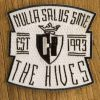 "THE HIVES ""nulla salus"" Patch Embroidered WHITE"