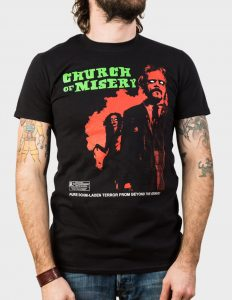 "CHURCH OF MISERY ""Rated R"" T-Shirt BLACK - S"