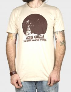 "JOHN GARCIA ""Coyote"" T-Shirt NATURE - S"