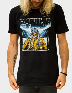 "SASQUATCH ""Maneuvers"" T-Shirt BLACK - M"