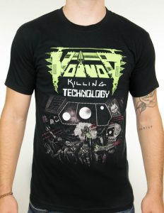 "VOIVOD ""Killing Technology"" T-Shirt BLACK - S"