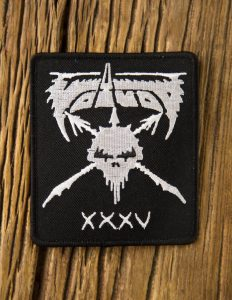 "VOIVOD ""XXXV anniversary"" Patch BLACK"