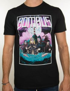"BOMBUS ""Deadweight"" T-Shirt BLACK - S"