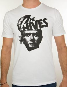 "THE HIVES ""Brutus"" T-Shirt WHITE - S"