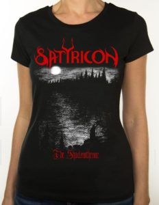"SATYRICON ""Shadowthrone"" GIRLIE-Shirt BLACK - M"