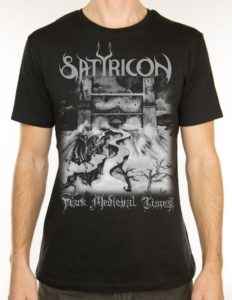 "SATYRICON ""Dark Medieval Times"" T-Shirt BLACK - M"