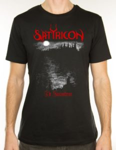 "SATYRICON ""Shadowthrone"" T-Shirt BLACK - S"