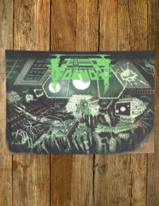 "VOIVOD ""Killing Technology"" Flag GREEN"