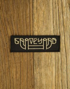 "GRAVEYARD ""LogoGold"" Patch"
