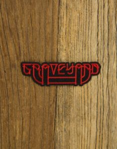 "GRAVEYARD ""LogoSolid"" Embroidered Patch"