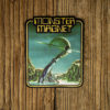 """MONSTER MAGNET """"Tab"""" Cut Out Patch"""