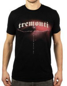 "TREMONTI ""red figure "" T-Shirt BLACK - S"