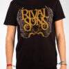 "RIVAL SONS ""Insignia"" T-Shirt BLACK"