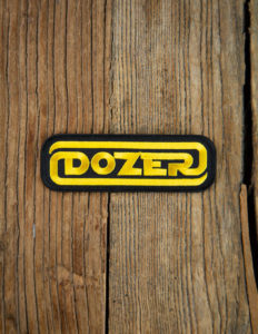 "DOZER ""Logo"" Patch BLACK"