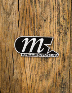 "MILLENCOLIN ""Logo"" Patch BLACK/WHITE"