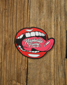 "NASHVILLE PUSSY ""Pleased to Eat You"" Patch"