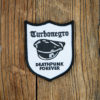 "TURBONEGRO ""Deathpunk Forever"" Patch BLACK/WHITE"