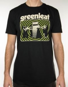 "GREENLEAF ""Hear the Rivers"" T-Shirt BLACK - S"